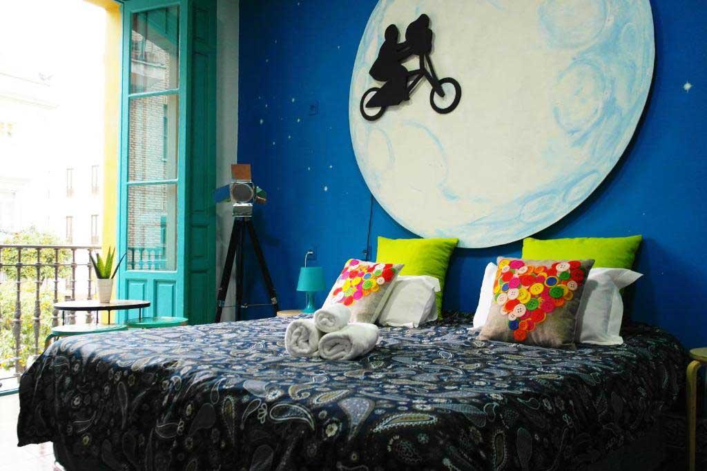 habitacion doble Sevilla Kitsch Hostel Art